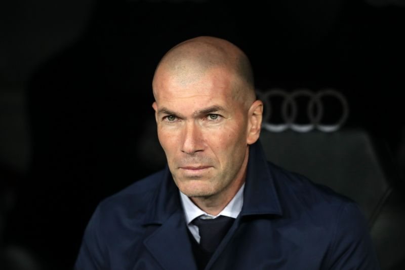 Zinedine Zidane stepped down as Real Madrid manager last week
