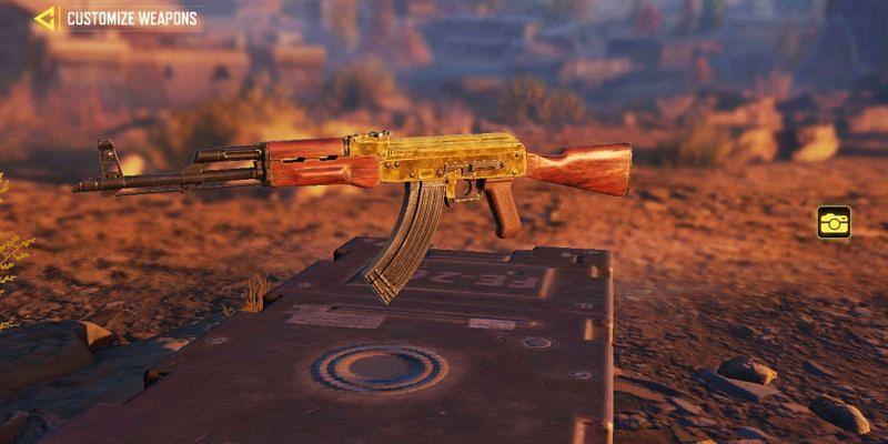 Top 5 AK-47 loadouts in COD Mobile Season 3 (Image via Activision)