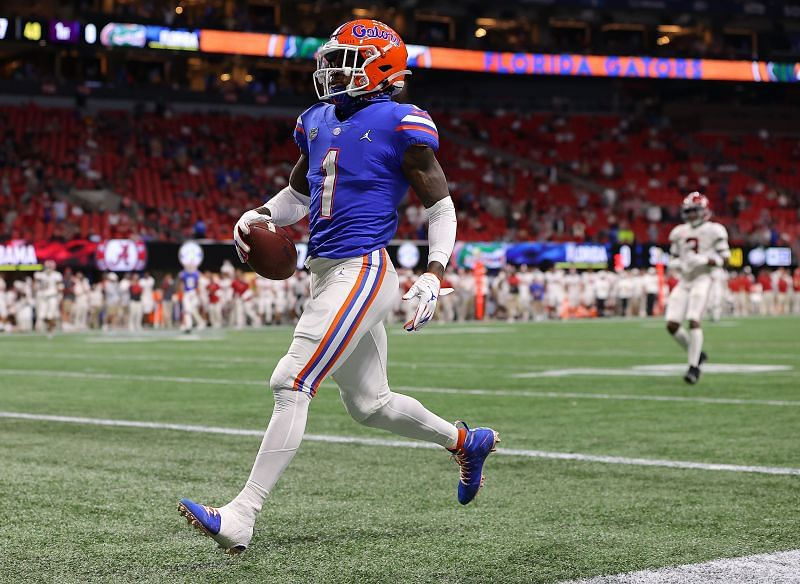 Florida Wide Receiver Kadarius Toney Will Add An Element Of Excitement To The Giants Offense