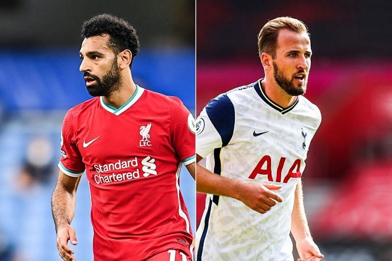 Mohamed Salah (left) and Harry Kane (right) will look to have a good FPL Gameweek 36.