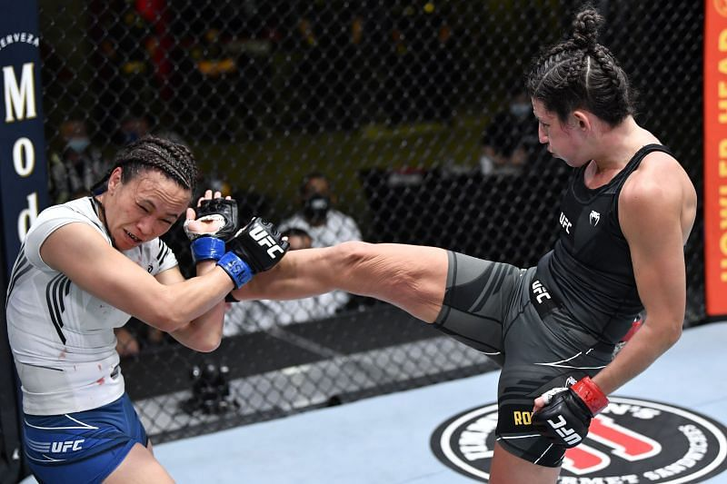 Marina Rodriguez may be on the path to a UFC strawweight title shot after her win over Michelle Waterson.