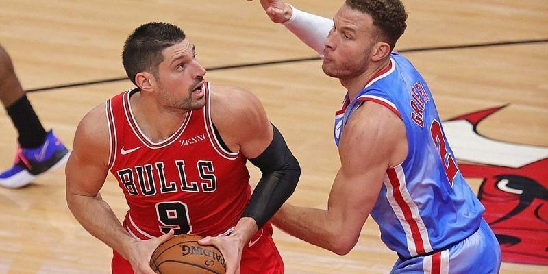 Nikola Vucevic #9 of the Chicago Bulls