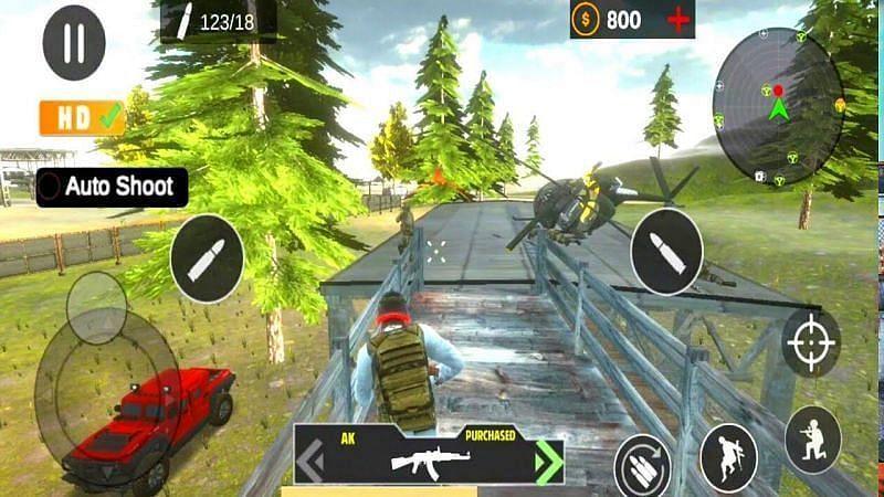 PVP शूटिंग गेम