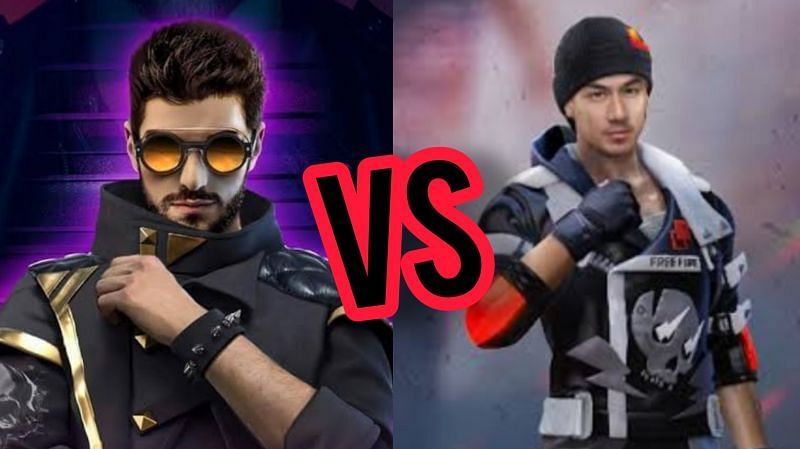 Comparing DJ Alok and Jota after the OB27 update in Free Fire
