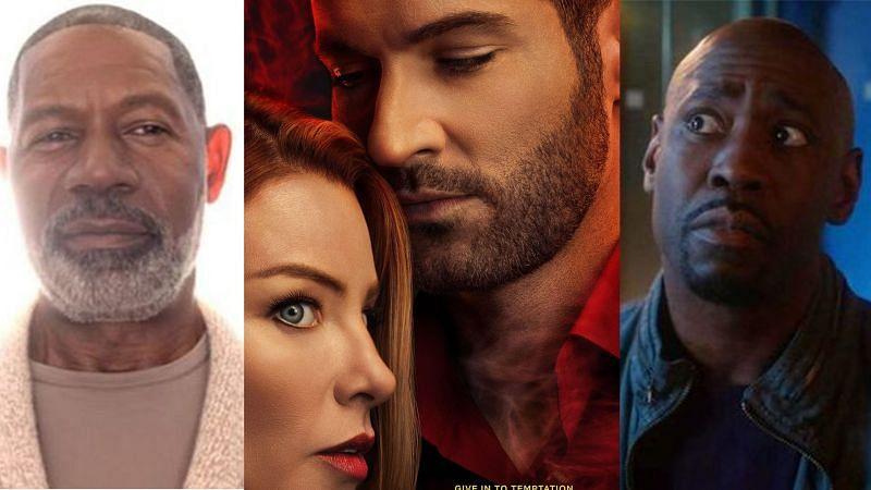 "Stills from ""Lucifer"" season 5 part 2 trailer and poster (Image via Netflix)"