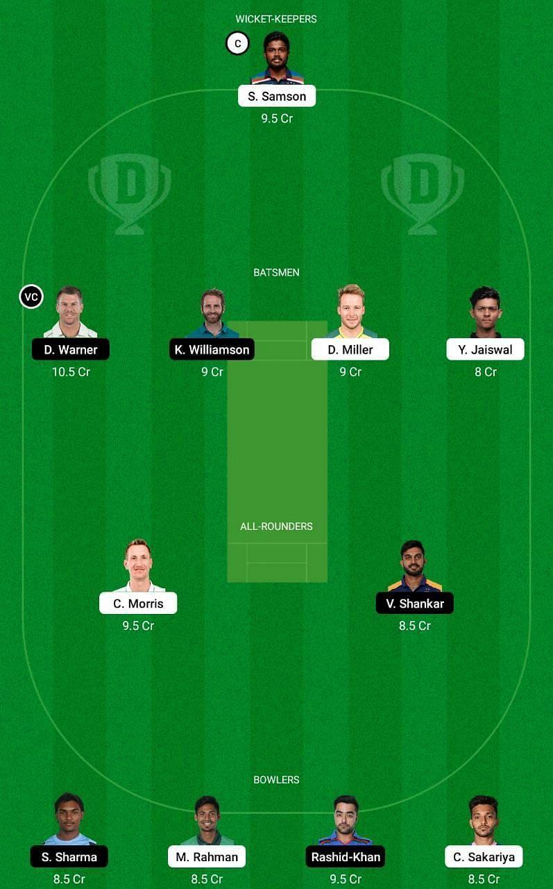 RR vs SRH IPL 2021 Dream11 Tips