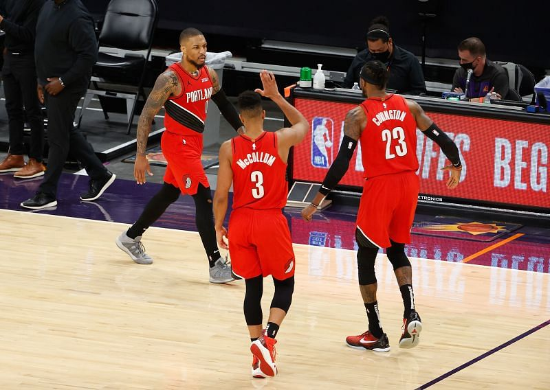 The Portland Trail Blazers take on the Denver Nuggets in the final game of their 2020-21 regular season.