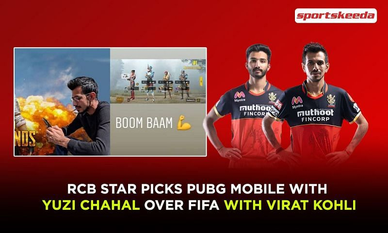 Devdutt Padikkal picks PUBG Mobile with Yuzi Chahal over FIFA with Virat Kohli