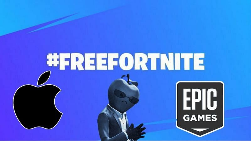 Thousands of fans shower Fortnite with support as Epic Games vs Apple Trials begin (Image via Sportskeeda)