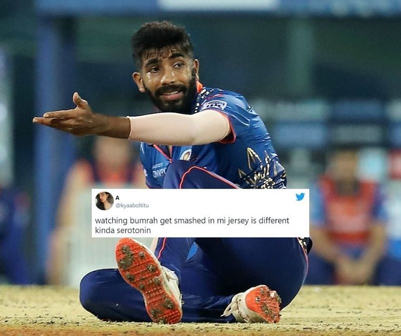 Jasprit Bumrah was carted to all parts of the ground by CSK batsmen, especially Ambati Rayudu