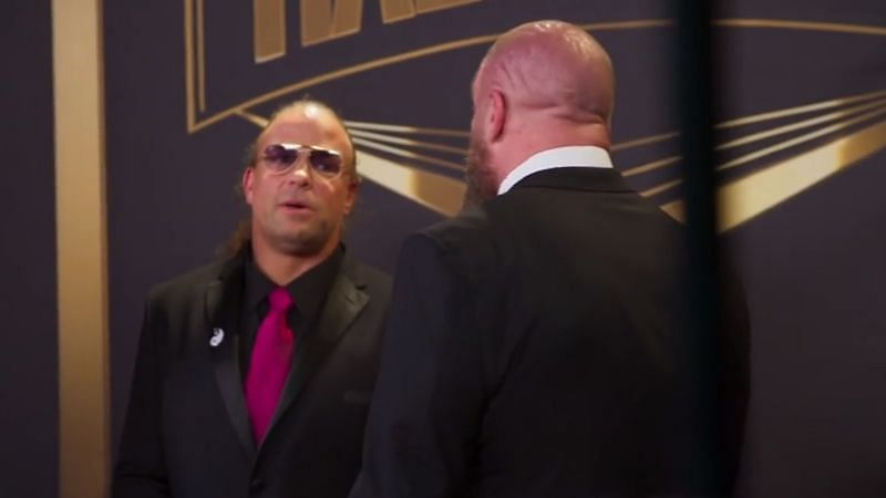 RVD and Triple H at the 2021 WWE Hall of Fame