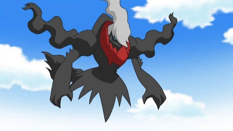 Darkrai in the anime (Image via The Pokemon Company)