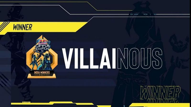 Villainous becomes champions of the Red Bull Campus Clutch Valorant India finals(Image via SkyEsports)