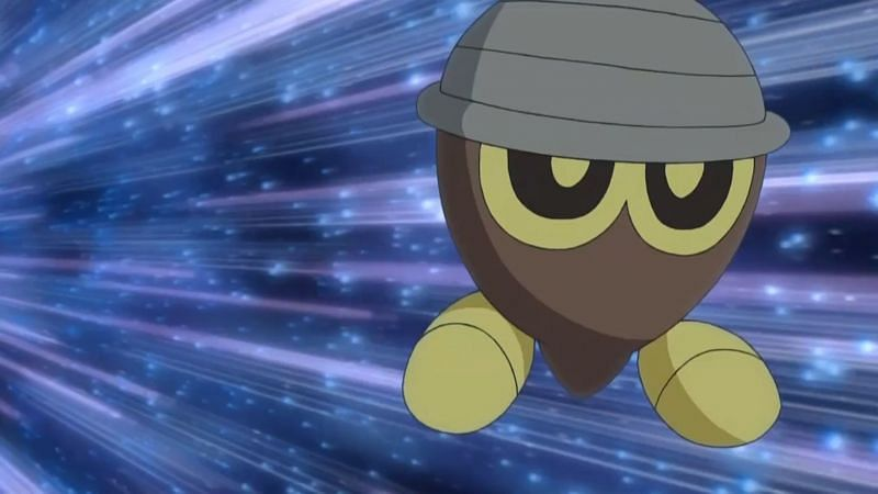 Seedot in the anime (Image via The Pokemon Company)