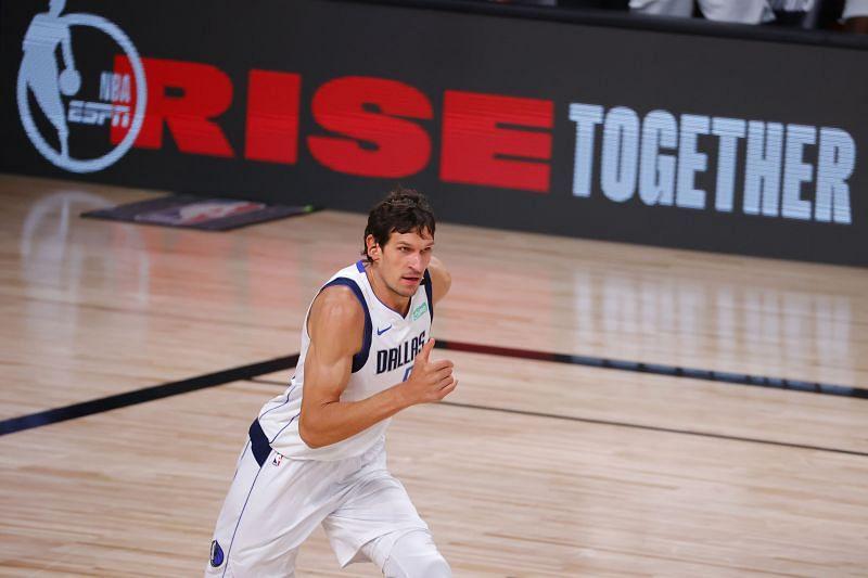 Boban Marjanovic #51 of the Dallas Mavericks.