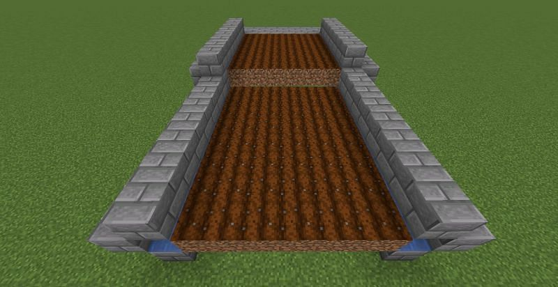 Use a hoe (Image via Minecraft)