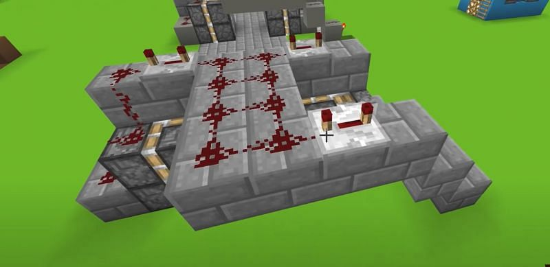 Repeaters and Redstone in Minecraft (Image via YouTube)