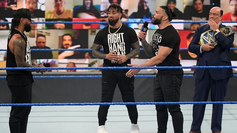 Roman Reigns and Jimmy Uso could kickstart a title feud this week itself
