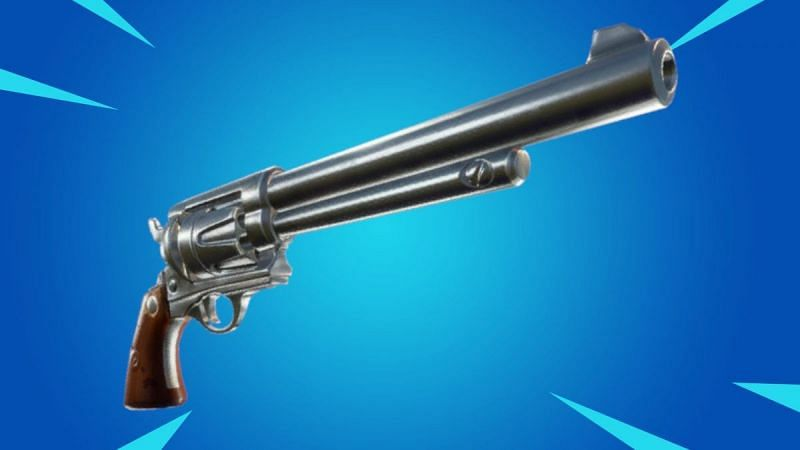 Fortnite v16.40 reveals the Marksman Six Shooter as the Exotic weapon (Image via Epic Games)