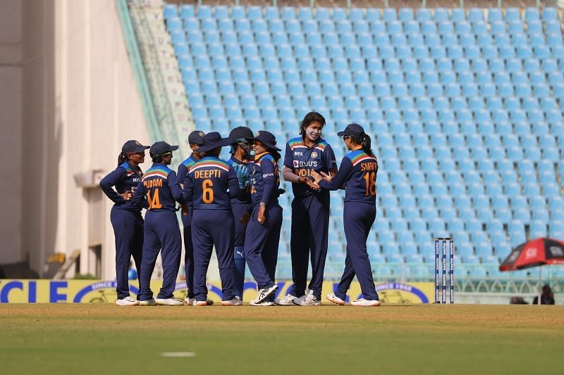 Indian women's cricket team. Pic: BCCI/ Twitter