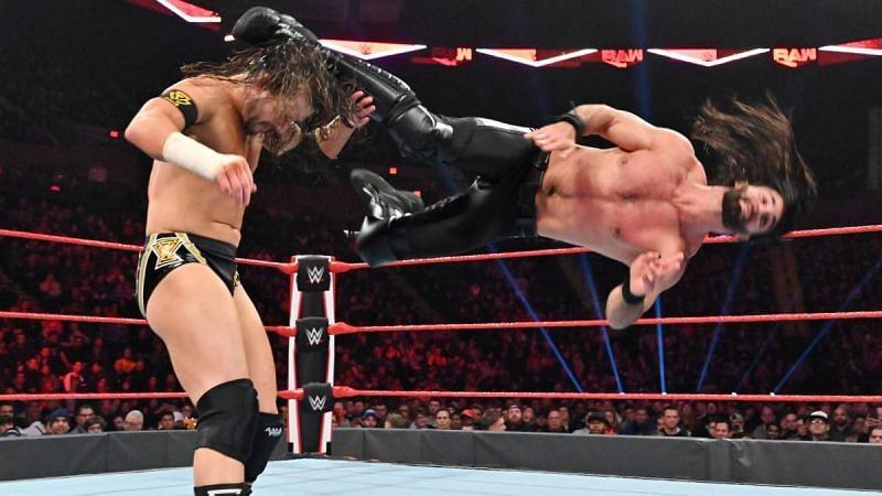 Seth Rollins y Adam Cole