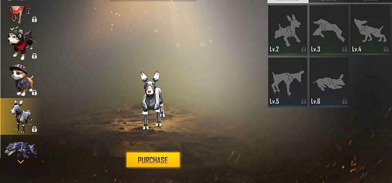 Free Fire में Mechanical Pup