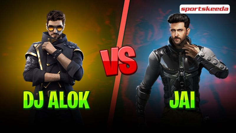 Comparing DJ Alok and Jai in Free Fire