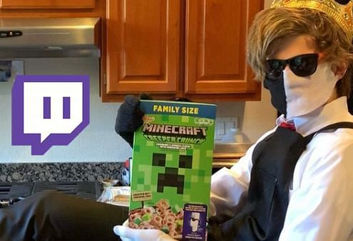 RanbooLive holding a delicious box of cereal (Image via 247twitch)
