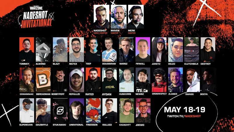 One of the main attractions of the Nadeshot Invitational is the massive prize pool, which is a huge $100,000 (Image via Nadeshot)