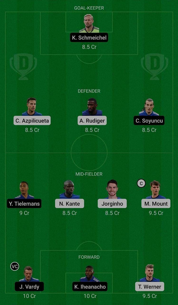 Chelsea (CHE) vs Leicester City (LEI) Dream11 Fantasy Suggestions