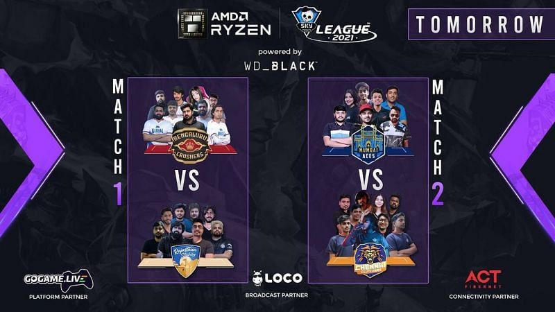 Skyesports Valorant League 2021 day 24 (Image from Skyesports Instagram)