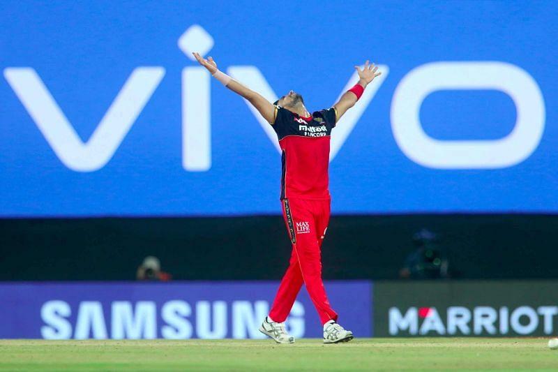 Harshal Patel enjoyed his breakthrough season in the IPL (Credits: Twitter)