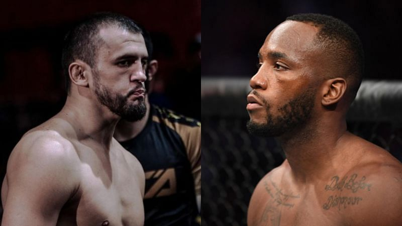 Albert Tumenov (L) and Leon Edwards (R) could face off again in the UFC