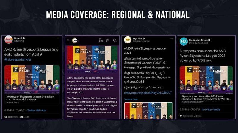 national media outreach (Image via Skyesprots League)