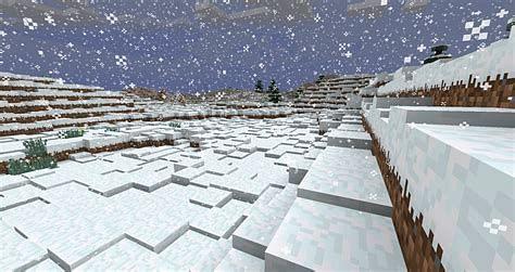 Snow in Minecraft (Image via minecraft.curseforge)
