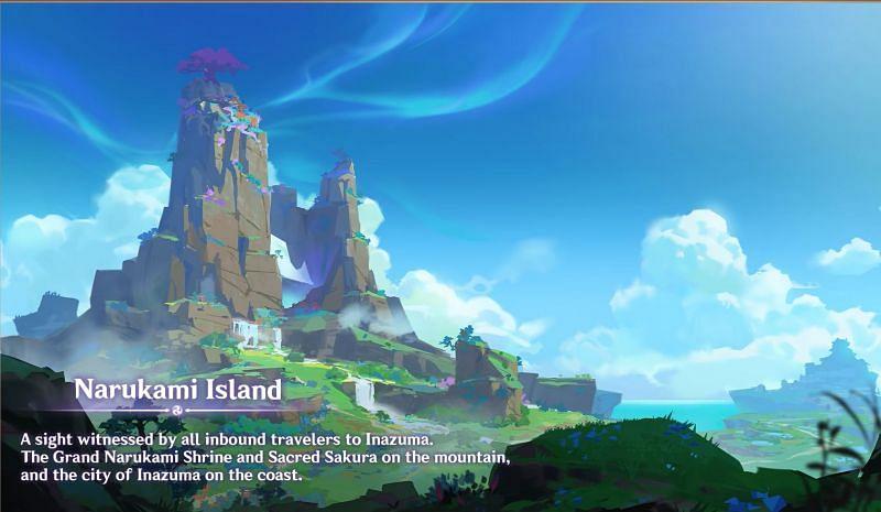 Marukami Island (Image via Mihoyo )