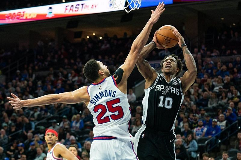 The Philadelphia 76ers face the San Antonio Spurs next.
