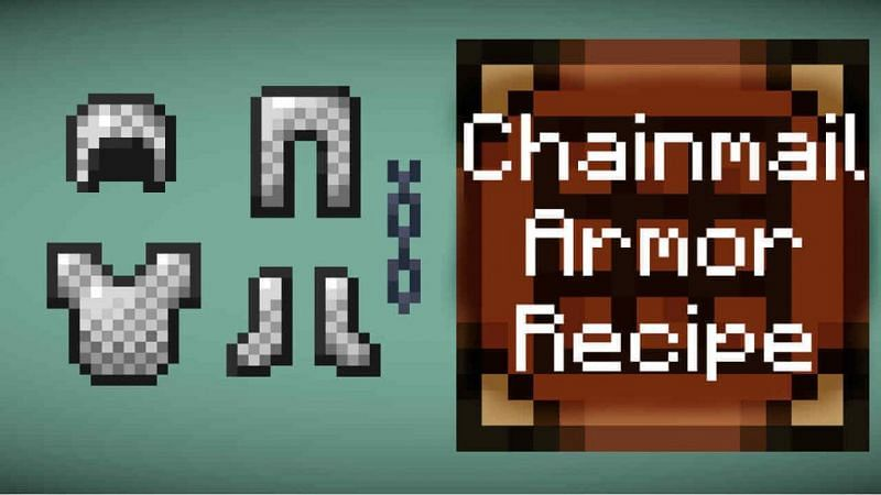 Chainmail armor in Minecraft (Image via pashacraft)