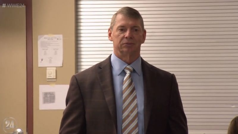 Vince McMahon is WWE's Chairman and CEO