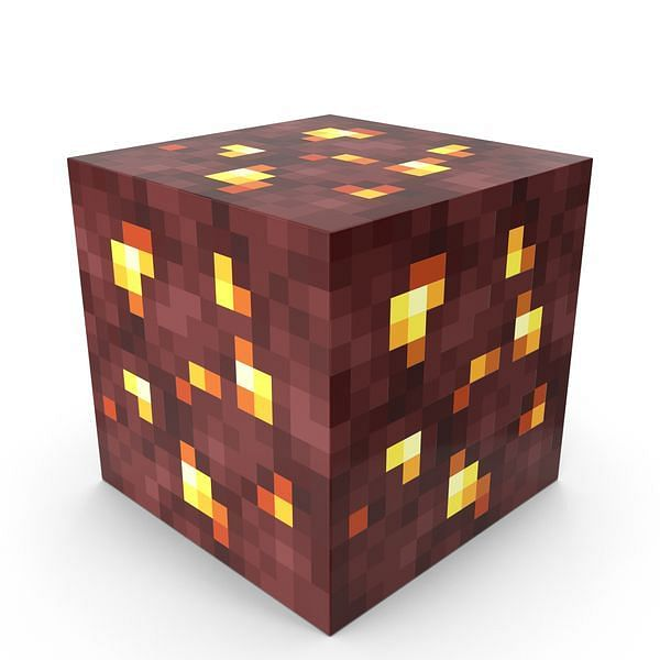 Nether gold ore (Image via pixelsquid)