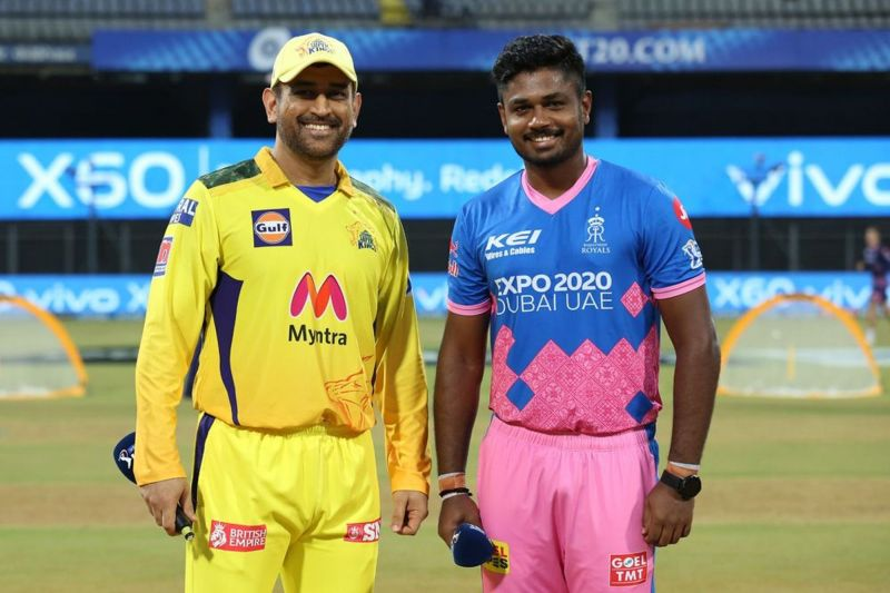 The Chennai Super Kings will face the Rajasthan Royals in Match 32 of IPL 2021 (Image Courtesy: IPLT20.com)