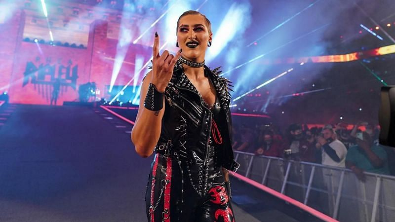 Rhea Ripley at WrestleMania