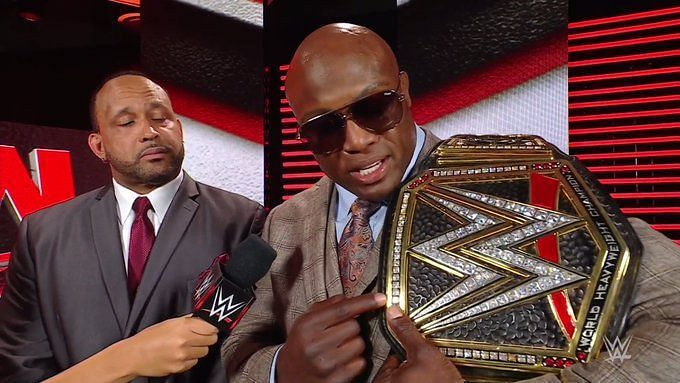 The WWE Champion was all decked up on this week