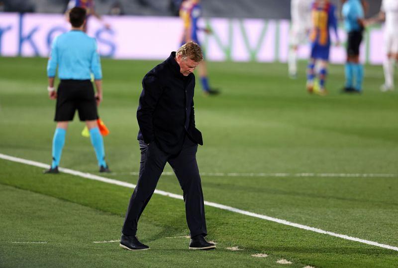 Barcelona manager Ronald Koeman