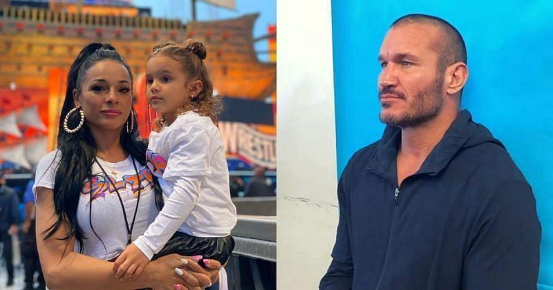 WWE सुपरस्टार रैंडी ऑर्टन, उनकी पत्नी और बेटी