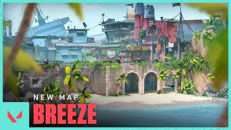 Breeze is now available in Unrated and Competitive modes in Valorant