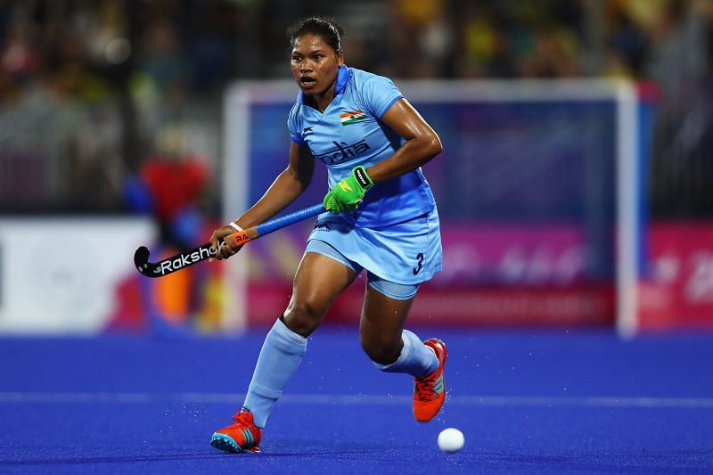 A file photo of Deep Grace Ekka at the Hockey Commonwealth Games