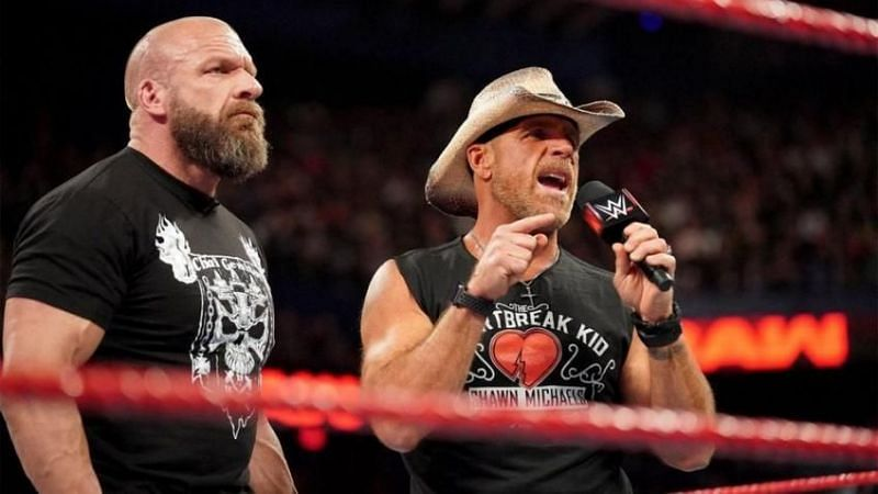 Triple H and Shawn Michaels now work together behind the scenes in NXT