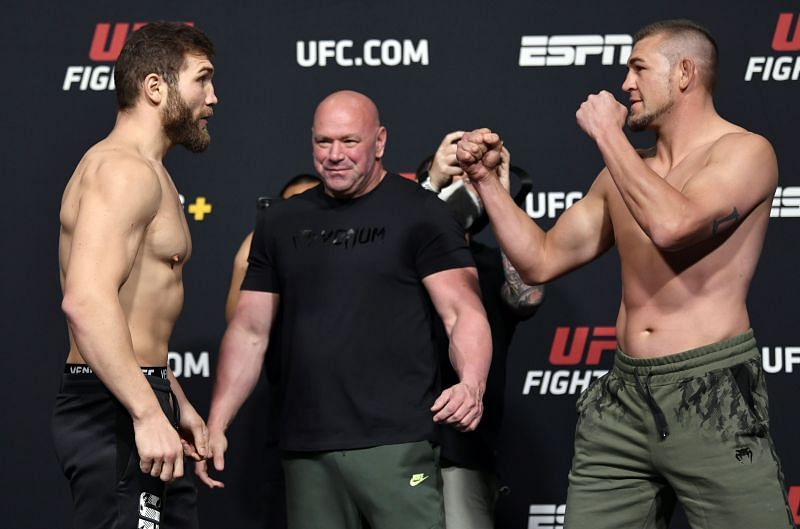 UFC Fight Night: Reyes v Prochazka Weigh-in