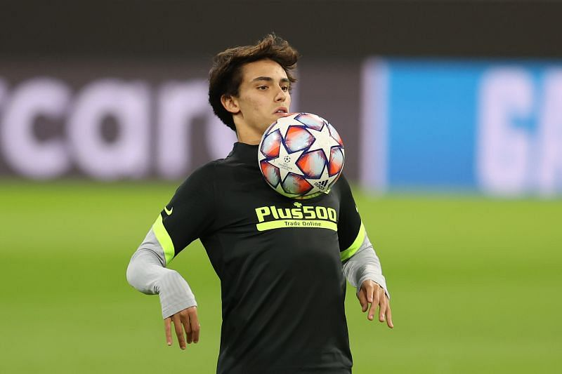 Joao Felix before an Atletico Madrid game
